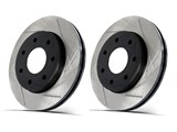 Powerslot 8239 Cobalt / Ion Front Slotted Rotor Set - 4-Lug /