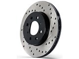 PowerSlot 8258DL Pro Series Cross-Drilled Rotor /