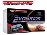 Power Stop 16-1602 Z16 Evolution Clean Ride Ceramic Rear Brake Pads 2012-2013 Ford F-150 /