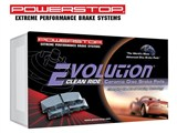 Power Stop 16-413 Z16 Evolution Clean Ride Ceramic Brake Pads - Rear Pair /