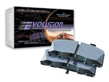 Power Stop 16-988 Z16 Evolution Clean Ride Ceramic Brake Pads - Front Pair / Power Stop 16-988