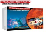 Power Stop 26-974A Z26 Street Series Extreme Performance Brake Pads - Rear Pair /