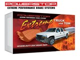 Power Stop 36-834 Truck & Tow Performance Brake Pads - Rear Pair /