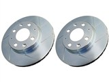 Power Stop AR82120SPR Trailblazer SS Slotted Rotor Set - Front /