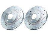 Power Stop AR82127XPR Rear Drilled & Slotted Rotors 2010 2011 2012 2013 Camaro V6 /