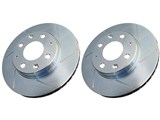 Power Stop AR8647SPR Slotted Rotor Set - Rear /