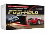Power Stop PM18-1053 Posi Mold Semi Metallic Rear Brake Pads 2010 2011 2012 2013 Camaro V8 /