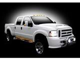 "Recon 26414 LED 62"" BIG RIG Amber Side Running Lights /"