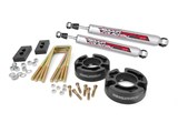"Rough Country 570P 2.5"" Leveling Suspension Kit W/Blocks & Performance 2.2 Rear Shock 2004-2013 F150 /"