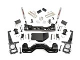 Rough Country 599S 4-Inch Suspension Lift Kit 2009-2013 Ford F-150 4WD /