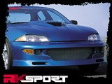RK Sport 02015003 Body Kit Ground Effects With Import Fighter Front Bumper /