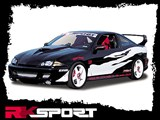 RKSport 02015006 Body Kit With Single Exhaust Cut-Out /