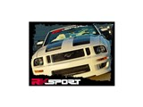 RK Sport 18011005 2005-2009 Mustang California Dream Ram Air Hood /