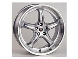 ROH Drift-R Wheels 18x9 Magnesium with Diamond Polish Lip /