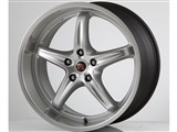 Scarallo Motorsport Drift-R 20x10 / 20x11 Wheels, Lightning Silver with Polished Lip /
