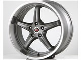 Scarallo Motorsport Drift-R 20x10 / 20x11 Wheels, Titanium with Polished Lip /
