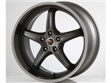 Scarallo Motorsport Drift-R 20x10 / 20x11 Wheels, Titanium Racing Edge Finish /