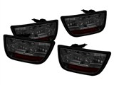 Spyder ALT-YD-CCAM2010-LED-SM 2010 2011 2012 2013 Camaro LED Tail Lights - Smoked /