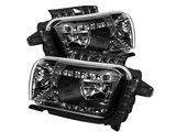 Spyder HD-YD-CCAM2010-DRL-BK 2010 2011 2012 2013 Camaro DRL LED Crystal Headlights - Black /
