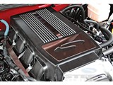 Steeda 555-0647 Plenum Cover for S197, Plain Black with Steeda engraved /