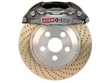 StopTech 83.193.0057.R4 2010-2013 Camaro SS Rear Trophy Brake Kit 4-Piston X-Drilled Zinc Rotors / StopTech 83.193.0057.R4 Rear Big Brake Kit