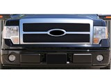 T-Rex Billet 20567B Black 2-Piece Billet Grille Insert 2009-2012 Ford F-150 Platinum /