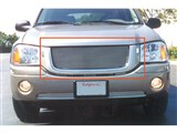 T-Rex 21385 Envoy (Exc Denali) Billet Grille Overlay/Bolt On - OE Logo Mounts on Billet /