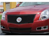 T-Rex 51197 Cadillac CTS Upper Class Mesh Grille, Black, Formed Mesh W/Recessed Logo Area, Full Open /