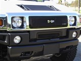 T-Rex 51295 H2 Upper Class Mesh Grille - All Black  /