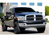 T-Rex 51468 Ram PU Upper Class Mesh Grille - All Black (Mesh Only - No Frame) /