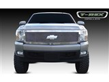 T-Rex 54111 Silverado 1500 Upper Class Stainless Mesh Grille - 1 Pc Style (Replaces OE Grille) /