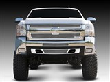 T-Rex 54112 Silverado HD Upper Class Stainless Mesh Grille - 2 Pc Style /
