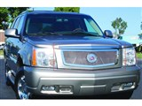 T-Rex 54182 Escalade, EXT, ESV Upper Class Stainless Mesh Grille W/Polished Logo Plate /