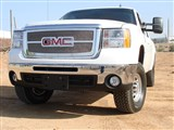 T-Rex 54207 Sierra 2500HD, 3500 Upper Class Stainless Mesh Grille - Overlay w/ Logo Opening  /