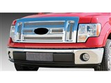 T-Rex 54569 Polished Upper Class Stainless Grille W/Formed Mesh 2009-2012 Ford F-150 Lariat, K-Ranch /