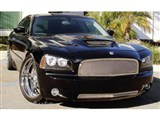 T-Rex Grilles 55474 Upper Class Mesh Polished Stainless Steel Bumper Grille Insert Dodge Charger /