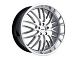 TSW 1780SNT405110S72 17x8 Snetterton 5x110 +40mm Wheel - HyperSilver With Mirror Polished Lip / TSW 1780SNT405110S72 17x8 Snetterton 5x110 +40mm