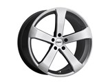 TSW 1780VOR405120S76 Vortex 17x8 5x120 +40mm Wheel - Hyper Silver /