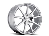 TSW 1805INT655121S70 Interlagos 18x10.5 Forged Silver Rear Wheel Corvette C5/C6/C7 - 5x120.65, ET65 /