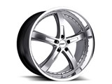 TSW 1880JAR405110S72 18x8 Jarama 5x110 +40mm Wheel - Hyper Silver With Mirror Lip Finish / TSW 1880JAR405110S72 18x8 Jarama 5x110 +40mm Wheel