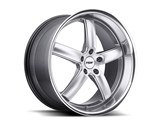 TSW 18x8 Stowe 5x120 +35mm Wheel - Hyper Silver /