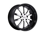 TSW 1880WIL355120B76 18x8 Willow 5x120 +35mm Wheel - Gloss Black /