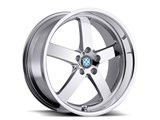 Beyern 1885BYR405120C72 Rapp 18x8.5 5x120 ET:40mm CB:72mm Chrome Wheel /