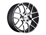 TSW 1890NUR505121S70 Forged Nurburgring 18x9.0 Gunmetal W/Mirror Face Front Wheel Corvette C5/C6/C7 /