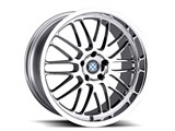 Beyern 1895BYM455120C72 Mesh 18x9.5 5x120 +45ET Chrome Wheel /
