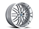 Beyern 1985BYM405120S72 Mesh Wheel 19x8.5 5x120 +40ET Silver With Mirror Cut Lip / Beyern 1985BYM405120S72 Mesh Wheel 19x8.5