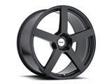 TSW 1990PAN505121M70 Panorama 19x9.0 5/120.65 ET50 Forged Black Front Wheel Corvette C5/C6/C7 /