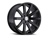Black Rhino 2410TRV356135M87 Traverse 24x9.5 6x135 35mm ET 87mm CB Black Wheel /