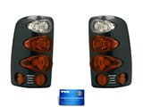 TYC Elegante Tail Lamps - Paintable Bezel /