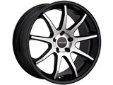 Tenzo TAWCPN1770MC42M Concept-9 17X7 5x100 / 5x114.3 +42mm Wheel - Machined Finish /